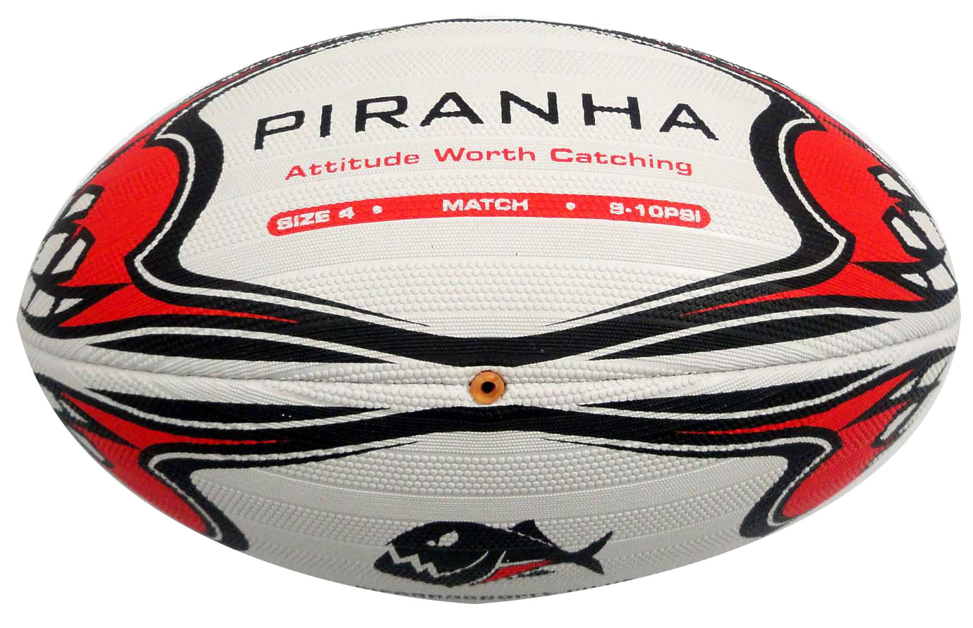 Piranha Rugby Match Ball