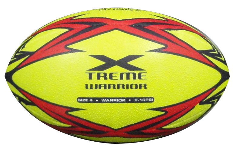Piranha Warrior Xtreme rugby ball