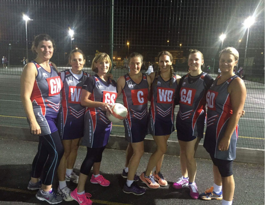 Mavericks netball kit