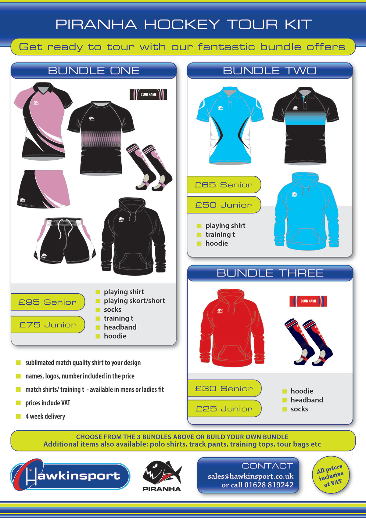 Hockey Tour Kit