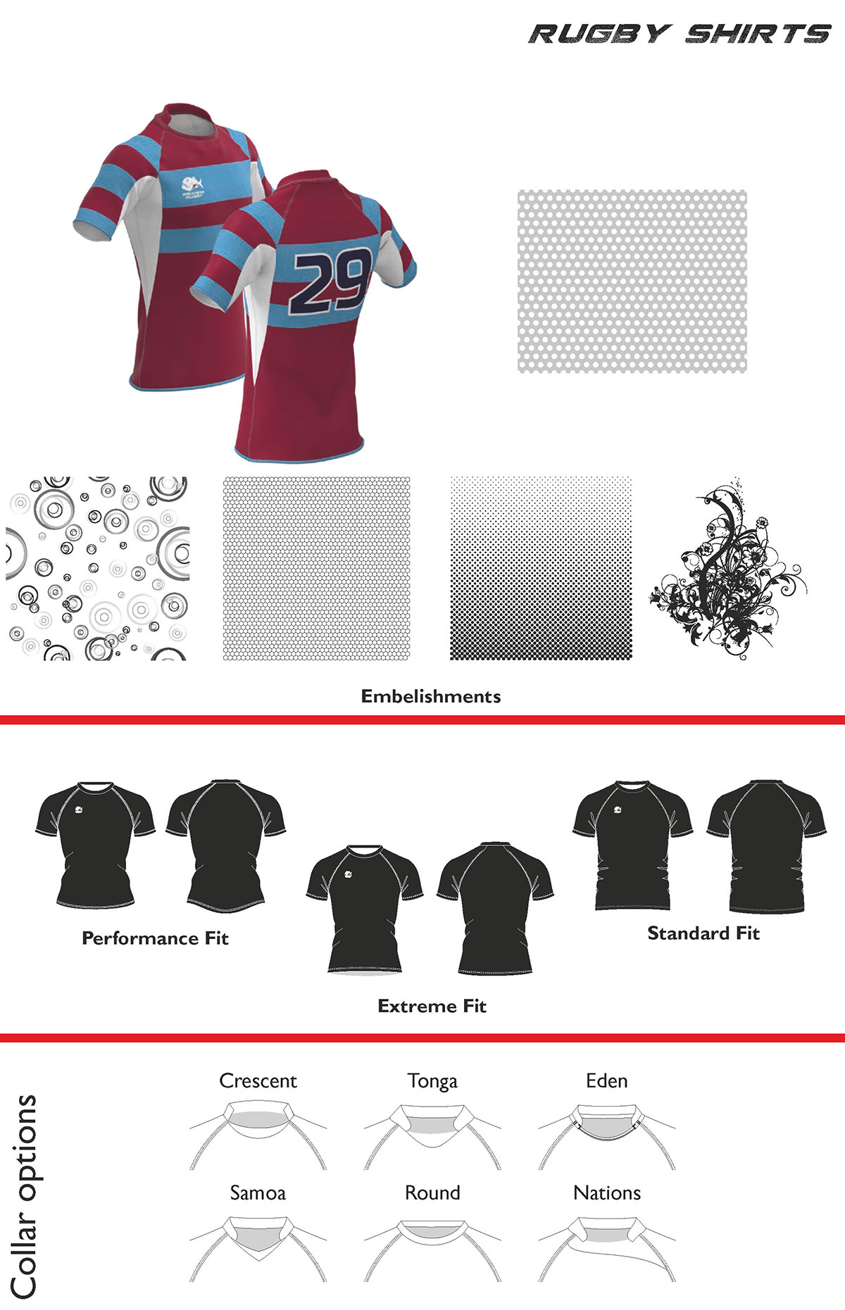 Piranha Rugby Wear