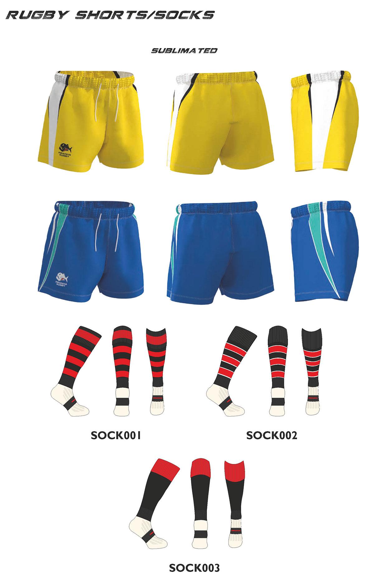 Piranha Rugby Shorts