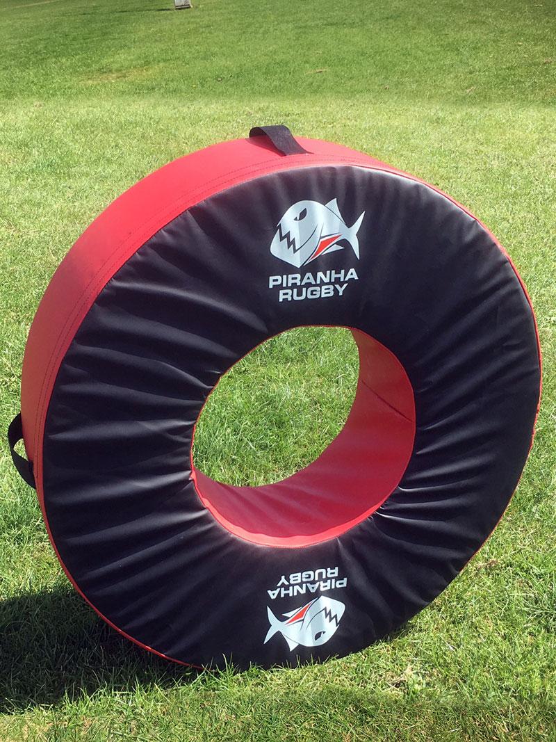 Piranha Warrior Xtreme rugby ball